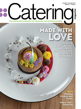 Catering Magazine current issue cover